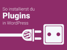 WordPress Plugins installieren: Der Einsteiger Guide